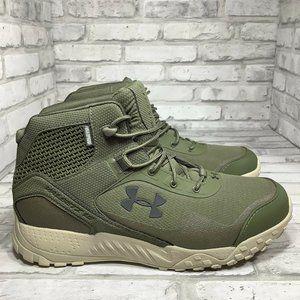 Under Armour Valsetz RTS 1.5 Tactical Boots  Green UA 5 Inch Waterproof